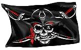 Rahmenlos - Bandera original de Piratas del Caribe