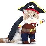 PTN Gato y Perro Caribe Pirata Disfraz, Ropa para...