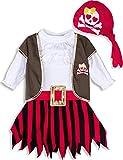 MOMBEBE COSLAND Disfraz Pirata Bebé Niñas (18-24...