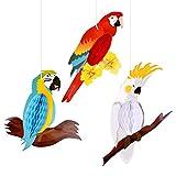 TUPARKA 6 Piezas Fiesta Hawaiana Decoracion Aves...