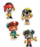 Pinypon Action Figura Pirata, colores surtidos,...