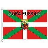 Home King Bandera de Gora Euskadi del País Vasco...