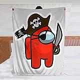 Manta pirata, manta de felpa súper suave y...