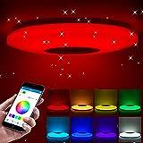 ShangSky - Lámpara de techo led regulable,...