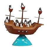 Juguete Juego de Mesa Equilibrio Barco Pirata del...