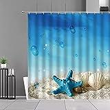 Cortina de ducha colorida decoración de baño...