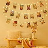 Clip Cadena de Luces LED, LECLSTAR LED Fotoclips...