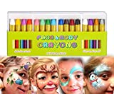 Mimoo Pintura Facial Ninos, 16 Colores Halloween...