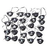 24 máscaras de ojos pirata de Frcolor, para...