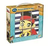Disney - Jake y los Piratas - 9 Cubos Rompecabezas