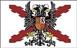 Durabol Bandera de Cruz DE BORGOÑA con Águila...