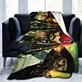 Yuantaicuifeng Mantas para Cama Sobrecama Pirates Caribbean Warm Fleece Throw Blanket Super Soft Lightweight for Couch Bed Sofa 80'' X60