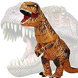 JASHKE Disfraz Dinosaurio Inflable Adulto Traje...