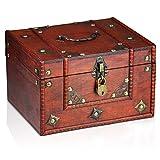 Brynnberg Caja de Madera Dominique 24x20x15cm -...