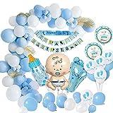 MMTX Baby Shower Decoraciones niños, globos de...