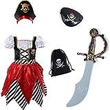 Disfraz de pirata pirata para niñas vestido de...
