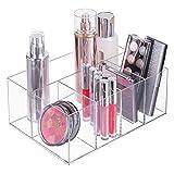 mDesign Organizador de maquillaje – Caja...