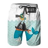 Pantalones Cortos De Playa para Hombres,Ahoy...