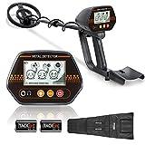 TACKLIFE Detector de Metales, 3 Tono de Audio y...