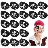 Kulannder 30 Unids Parche de Ojo de Pirata de...