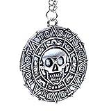 Beaux Bijoux - Medallón de moneda azteca de...