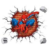 Spiderman 3D Pegatinas Spiderman Pegatinas...