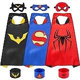 Sinoeem Capa de Superhéroe para Niños - 3 Capa y...
