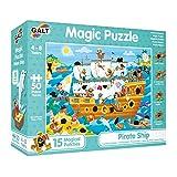 Galt Toys Caribe Puzle Mágico – Barco Pirata (GA1003850)