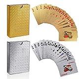 FT-SHOP Poker Cartas 2 Juegos Impermeable Juego de...