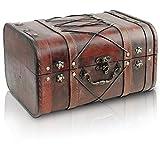 Brynnberg - Caja de Madera Cofre del Tesoro Pirata...