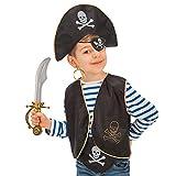 Carnival Toys - Juego pirata para niño: sombrero,...