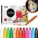 Y.F.M 12 Colores Pinturas Faciales y Corporales,...