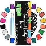RIOGOO Kit de Pintura Facial para niños Adultos...