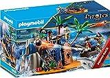 PLAYMOBIL Pirates 70556 - Isla Pirata con...