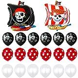 Feelairy 22 pcs Globos Piratas Gigantes Globo de...