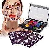 XPASSION Kit de Pintura Facial. Set de Maquillaje,...