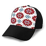 Gorra de béisbol de algodón de Moda de Verano Unisex Sombreros de Camionero Ajustables Arte Popular Brillante Colcha de xuxuxu en Toda la impresión Sombreros de Golf