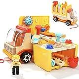 Nene Toys - Camión de Madera con Herramientas de...