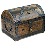 Brynnberg - Caja de Madera Cofre del Tesoro con...