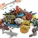 Animal marino, 18 paquetes de juguetes de goma de...