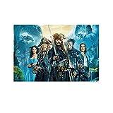 SHEFEI 6065 - Póster decorativo de piratas del...
