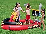 Bestway - Centro de juegos hinchable barco pirata...
