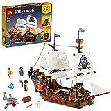 LEGO Creator Vehicles Creator3en1Barco Pirata,Set de Juego Posada e Isla Calavera, multicolor (Lego ES 31109)