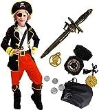 Tacobear Disfraz Pirata Niño con Pirata...