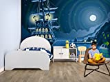 Fotomural Vinilo Pared Infantil Barco Pirata | Fotomurales | Fotomural Pared | Fotomural Decorativo | Vinilo Decorativo | Varias Medidas 200 x 150 cm | Decoración comedores, Salones | Diseño Elegante