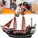Barco Pirata,Pirates Playset, Modelo De Barco...