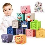 Luclay Bloques Apilables para Bebés 6 Meses 1 2 3...