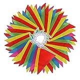 Vicloon Multicolor banderín 100 Banderas de...