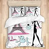 XWXBB Juego de ropa de cama, diseño de isla...