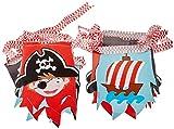 amscan- Banderines de decoración Pirata, Color...